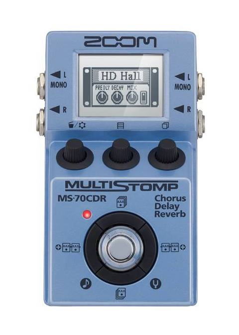 ZOOM MS70CDR CHORUS DELAY REVERB