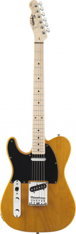 SQUIER TELECASTER AFFINITY LH MANCINA BUTTERSCOTCH BLONDE