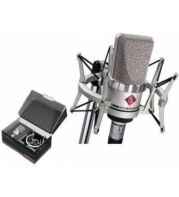 NEUMANN TLM102 NICKEL STUDIO SET CON RAGNO EA4 INCLUSO