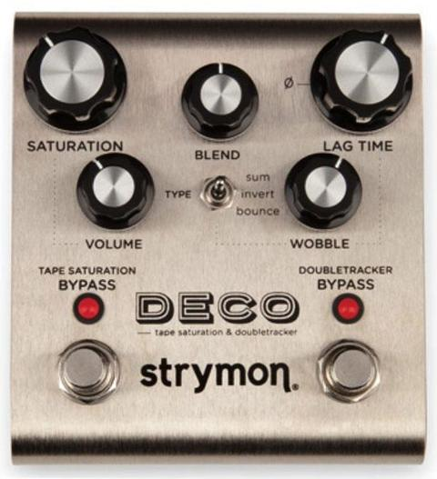 STRYMON DECO ECHO TAPE SATURATION DELAY SPEDIZIONE INCLUSA