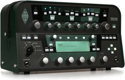 KEMPER PROFILING AMPLIFIER HEAD BLACK SPEDIZIONE INCLUSA