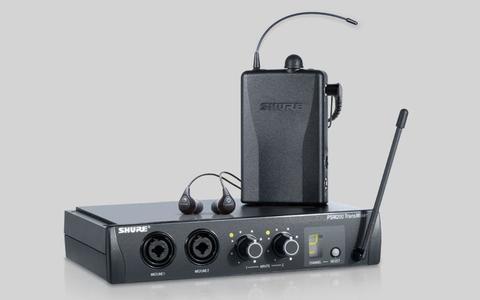 SHURE PSM200 EAR MONITOR SET CON AURICOLARI SHURE SE112 SPEDIZIONE INCLUSA