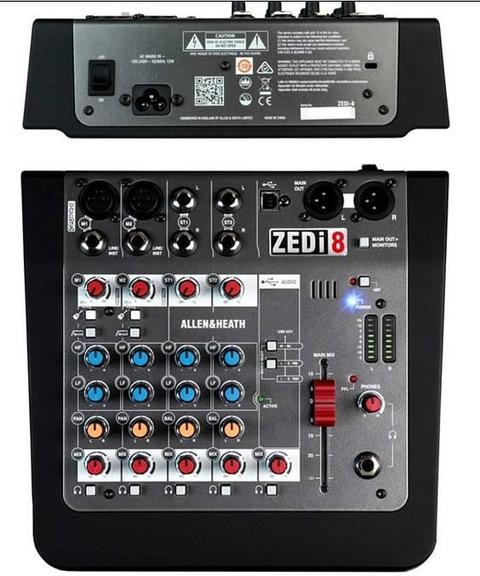 ALLEN & HEATH ZEDi 8