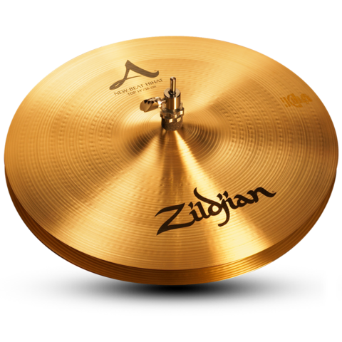 "ZILDJIAN A 14"" HI HAT NEW BEAT"