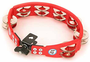 LATIN PERCUSSION LP161 TAMBURELLO MONTABILE ROSSO LP Latin Percussion LATIN PERCUSSION LP161 TAMBURELLO MONTABILE ROSSO