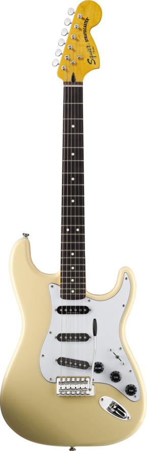 SQUIER VINTAGE MODIFIED STRATOCASTER '70S VINTAGE WHITE SQUIER VINTAGE MODIFIED STRATOCASTER '70S VINTAGE  WHITE
