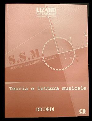 LIZARD TEORIA E LETTURA MUSICALE + CD