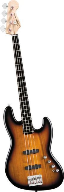 SQUIER JAZZ BASS DELUXE ACTIVE IV SUNBURST