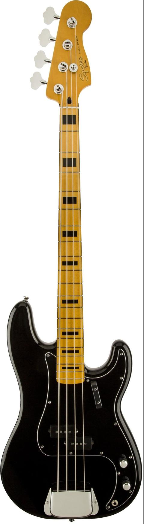 SQUIER CLASSIC VIBE 70S PRECISION BASS BLACK