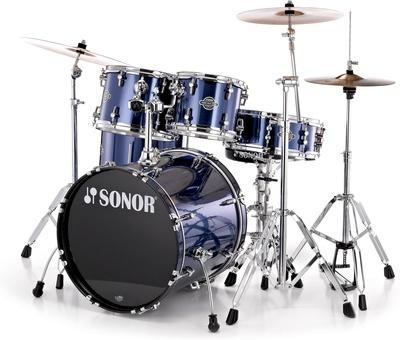 SONOR SMF11 STAGE 2 SMART FORCE BRUSHED BLU  SONOR  SMF11 STAGE 2 SMART FORCE BRUSHED BLU