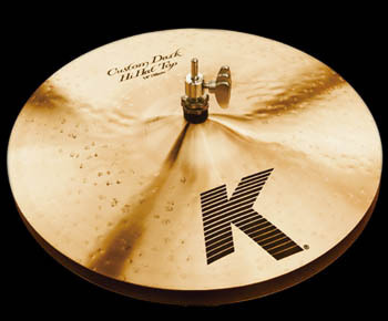 "ZILDJIAN K CUSTOM DARK 14"" HI-HAT"