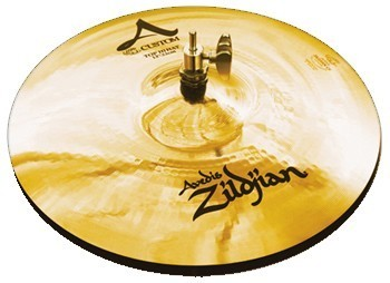 "ZILDJIAN A CUSTOM 14"" HI-HAT BRILLANT"