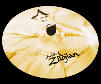 "ZILDJIAN A CUSTOM 16"" CRASH BRILLIANT"