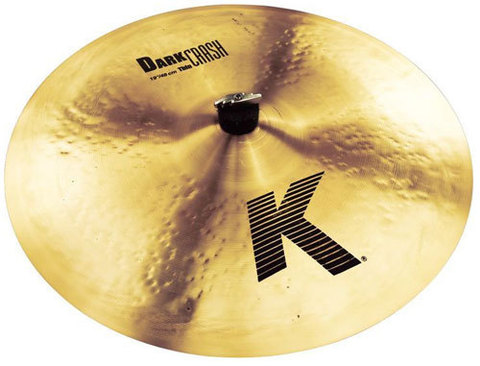 "ZILDJIAN K DARK 19"" THIN CRASH/RIDE"