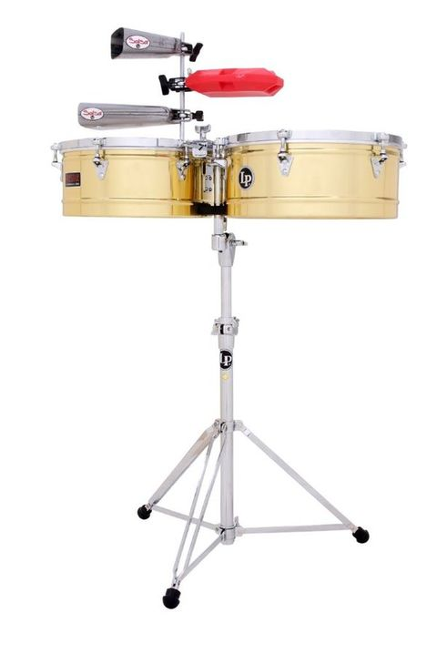 "LP LATIN PERCUSSION LP1314B Prestige 13"" e 14"" OTTONE"