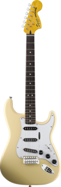 SQUIER VINTAGE MODIFIED STRATOCASTER '70S VINTAGE WHITE