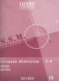 LIZARD CHITARRA ELETTRICA HARD ROCK HEAVY METAL PARTE 3-4 + CD