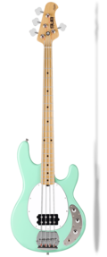 STERLING BY MUSIC MAN RAY4 MINT GREEN SPEDIZIONE INCLUSA