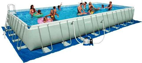 Piscina Intex Ultra Frame- Filtro a sabbia INTEX 975 x 488 x h. 132