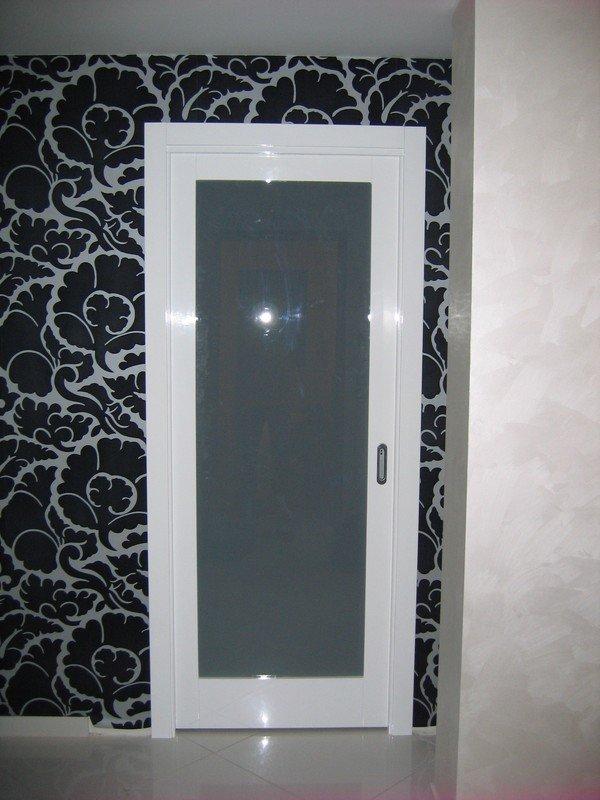 Porta in legno con vetro ragusa caltagirone catania - Porta legno vetro ...