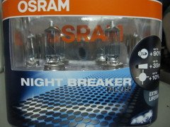kit OSRAM NIGHT BREAKER PLUS H1