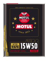 Olio Motul 15w50 epoca after 1970 cf 2lt