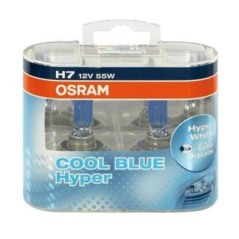 KIT LAMPADE OSRAM COOL BLUE 5000K H7