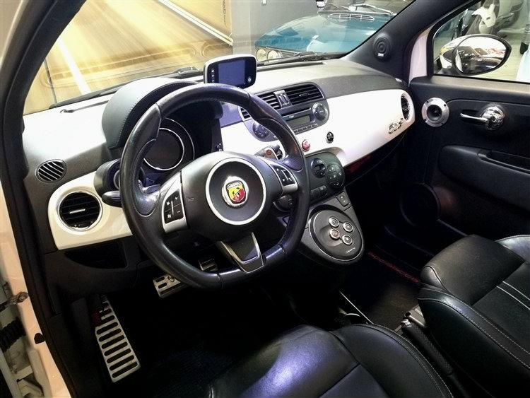 Abarth 500 Cabrio kit essesse da 160Cv Benzina