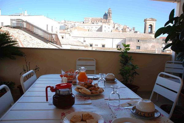 Bed and Breakfast panoramico in centro a Caltagirone
