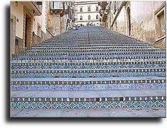 Ceramiche terracotte a due passi dalla scalinata a Caltagirone