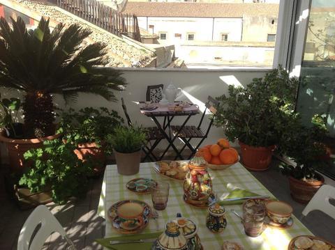 chambres maison vacances  à Caltagirone Sicilie