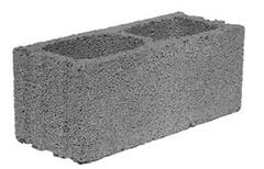 Blocco da intonaco 25 - 2 fori vibrocompresso Blocco da intonaco dim. 25x20x50 - 2 fori in cemento e argilla espansa