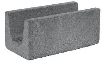 Blocco Correa per architravi da intonaco 15 vibrocompresso Blocco Correa da intonaco dim. cm 15x20x50 in argilla espansa