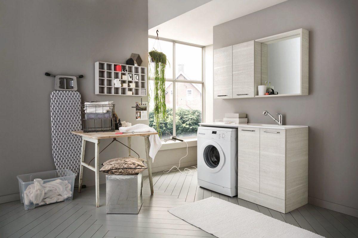 Composizione lavanderia arbi arredobagno home catania for La roccia arredo bagno