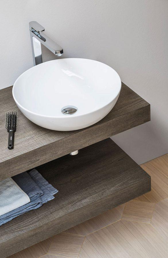 Mensolone folding completo di lavabo e staffe arbi for Arredo bagno catania