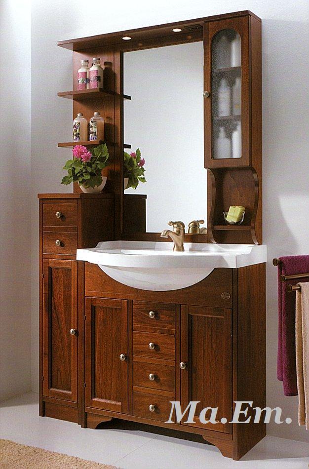 Mobile bagno classico eban eleonora catania - Mobile bagno contemporaneo ...