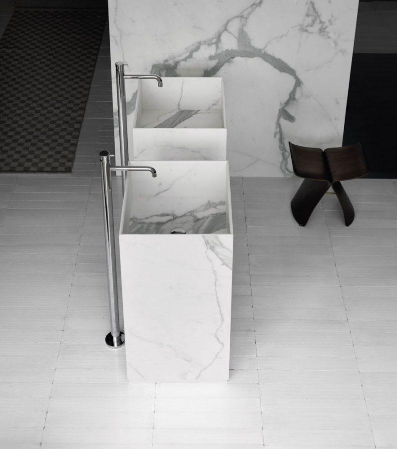lavabo monolitico arbi arredobagno home - catania - Arredo Bagno A Catania