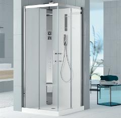Cabina doccia idromassaggio Novellini Crystal