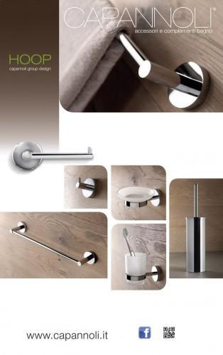 Kit accessori Bagno Capannoli Hoop