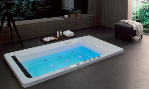 Vasca biposto idromassaggio Colacril Marmore