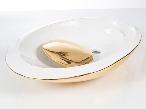 Lavabo appoggio Cipi' Saturn
