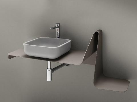 Consolle per lavabi in appoggio ARLBLU TULIP