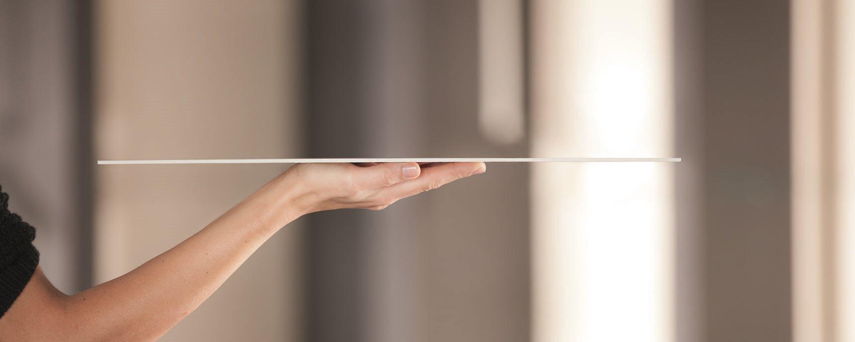 Il gres porcellanato spessore 3mm catania for Piastrelle 3 mm