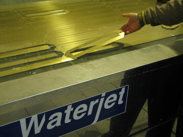 Waterjet in Sicilia
