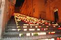 Scalinata illuminata a Caltagirone