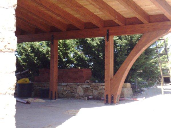 Verande in legno lamellare with foto verande in legno for Bocchio serramenti