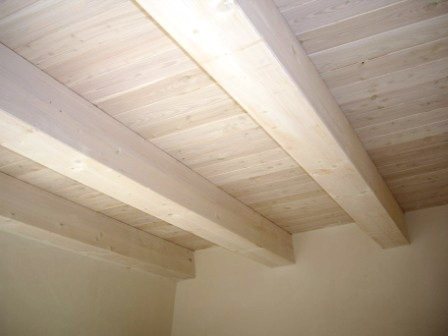 Soffitto In Legno Lamellare : Verande tetti strutture coperture soffitti in legno ventilato