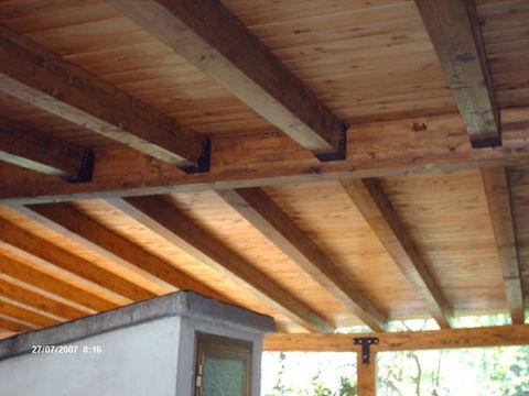 Tetti in legno lamellare particolari costruttivi