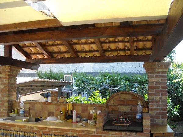 Le nostre realizzazioni bagheria palermo pag 3 - Cucina muratura esterna ...