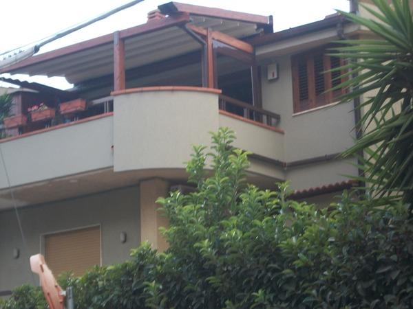 Copertura pergola mobile - Le nostre realizzazioni - Bagheria (Palermo)